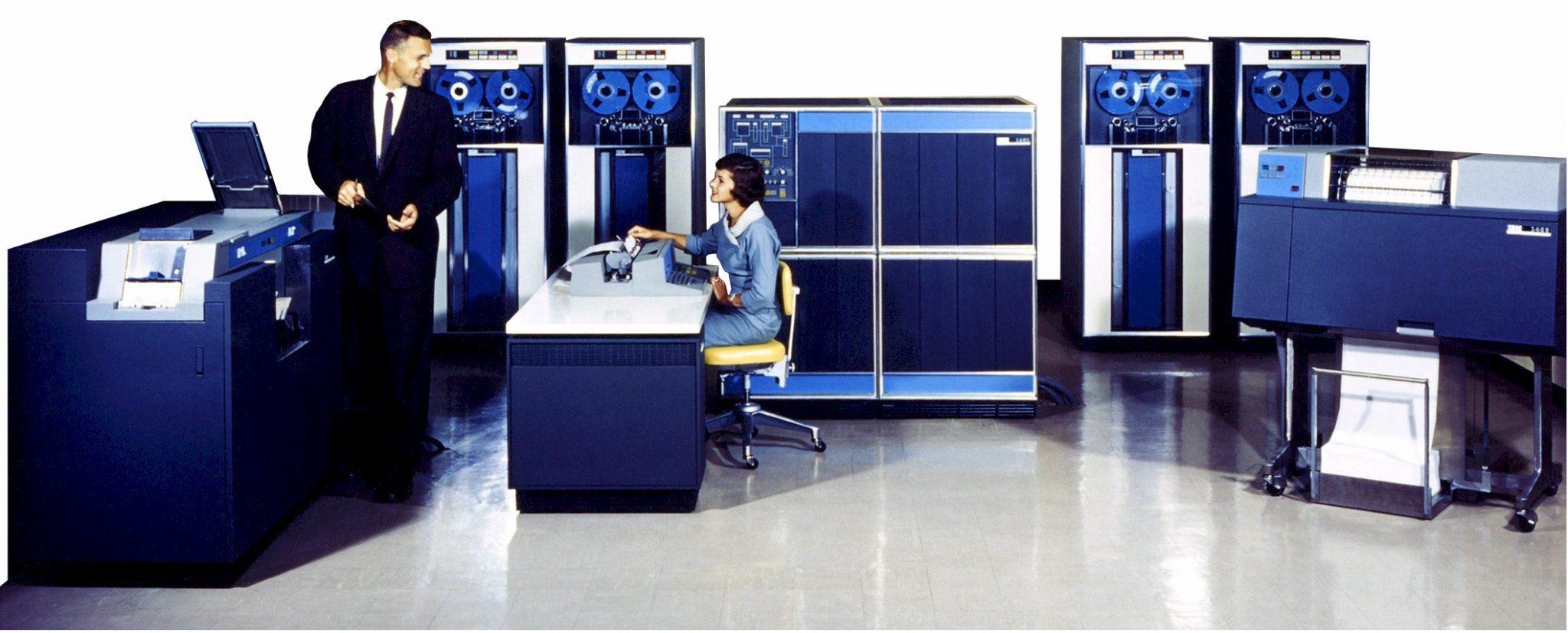 IBM 4381 Model 21 Main Frame computer